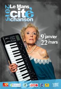 6 mars 2015 , tremplin festival Le Mans cité Chanson ( finale)