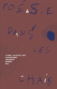 15 septembre 2017 festival POESIE DANS LES CHAIS