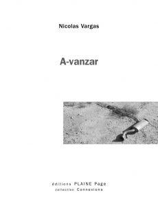 A-VANZAR | Le livre