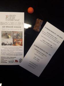 «VHS» & Perf «Flour Flower» avec Didier Bourda | Théâtre de Saumur (49) | 12 Mars 2019