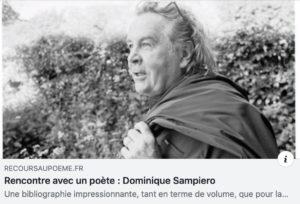 Salutations de Dominique Sampiero à Nicolas Vargas… entre autres…