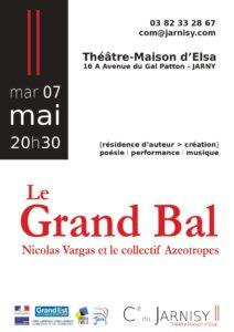 Bals ! | Performance | 4 mai 2019 | 20h30 | Théâtre-Maison d'Elsa – Jarny (56)